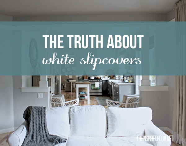 beach house sofa slipcover duncan phyfe reupholstered 5 things to consider before you choose white slipcovers ...