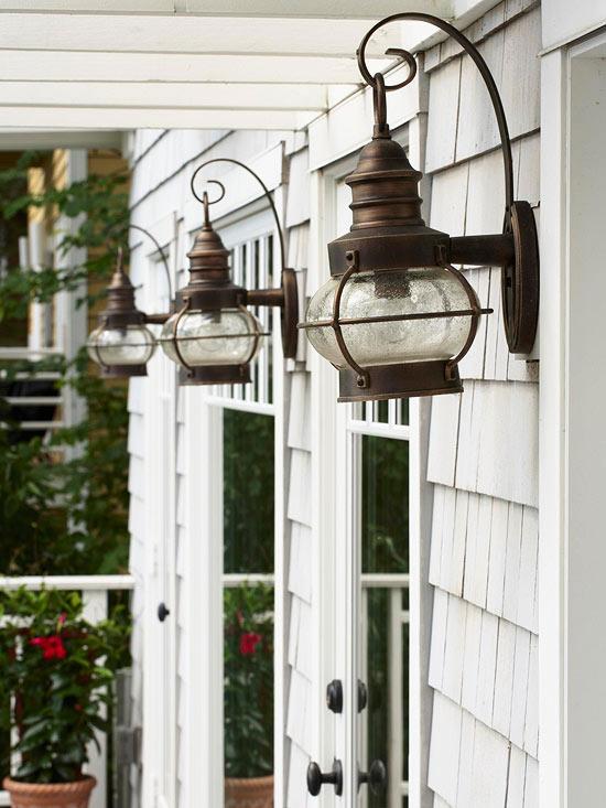 Exterior Lighting Charming Outdoor Lanterns  The