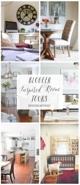 Blogger Inspired Room Tours - The Inspired Room