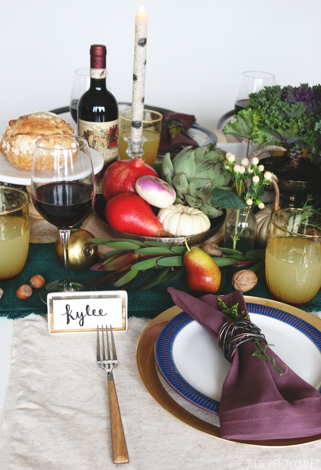 Fall Tablescape Ideas - The Inspired Room