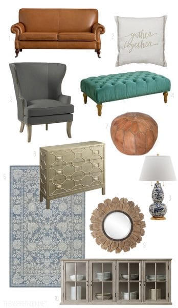 The Inspired Room - Living Room Sources