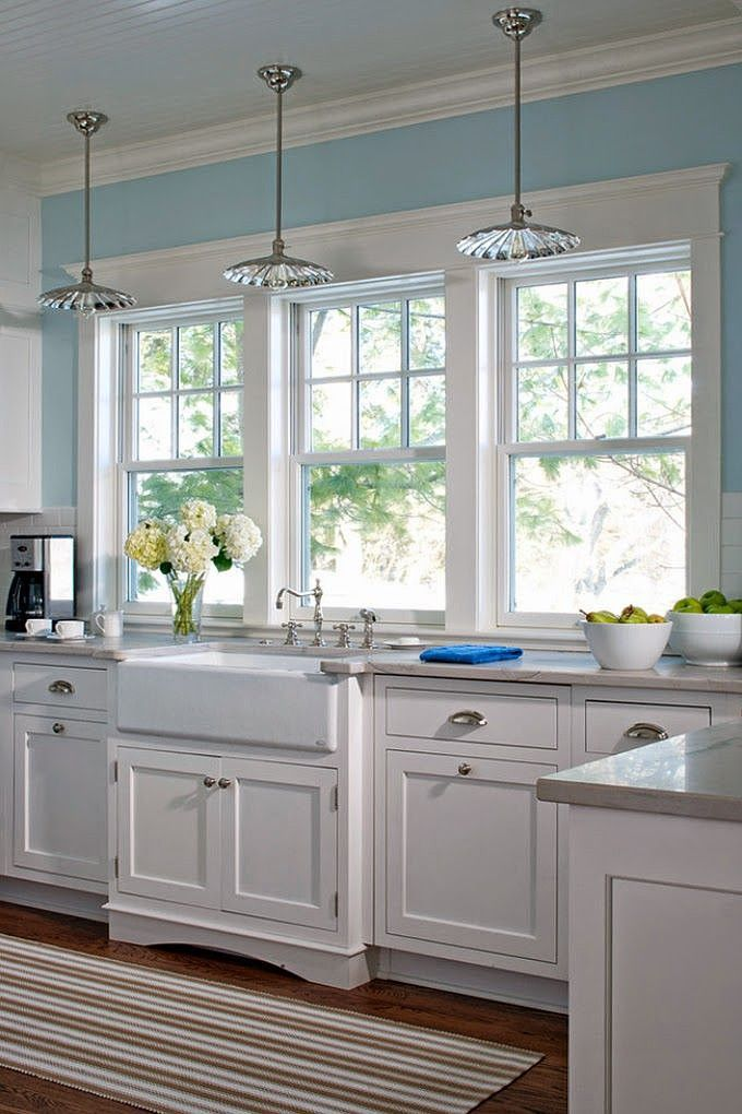 my kitchen remodel windows flush with
