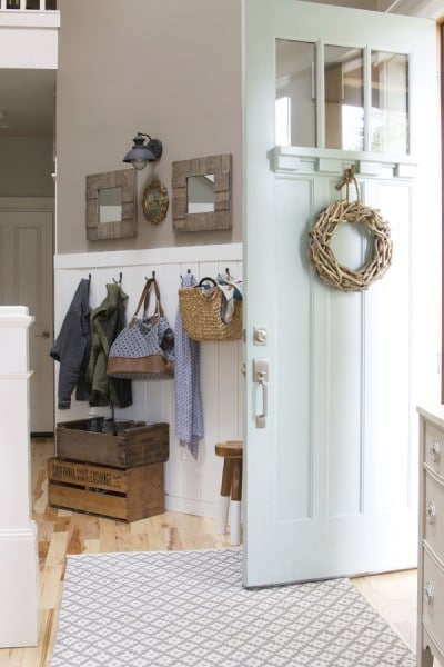 The Inspired Room Entryway - Hooks