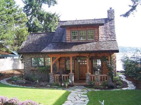 Timber House in Washington
