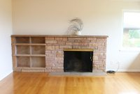 Painted Brick & Stone Fireplace Inspiration - The Inspired ...
