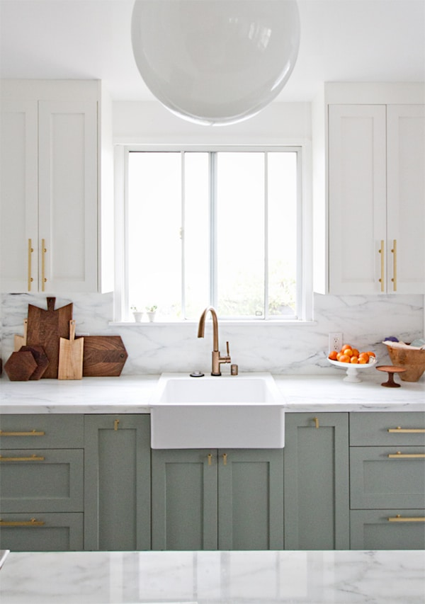 farm sinks for kitchens cafe kitchen curtains farmhouse inspiration the inspired room