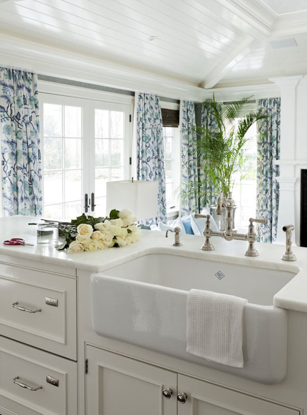 kitchen farm sink utensil holder ideas farmhouse sinks inspiration the inspired room
