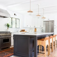 Hardware For White Kitchen Cabinets Cast Iron Sinks Black Cabinet Ideas The Inspired Room