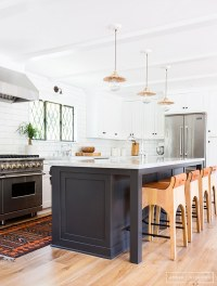 Black Hardware: Kitchen Cabinet Ideas - The Inspired Room