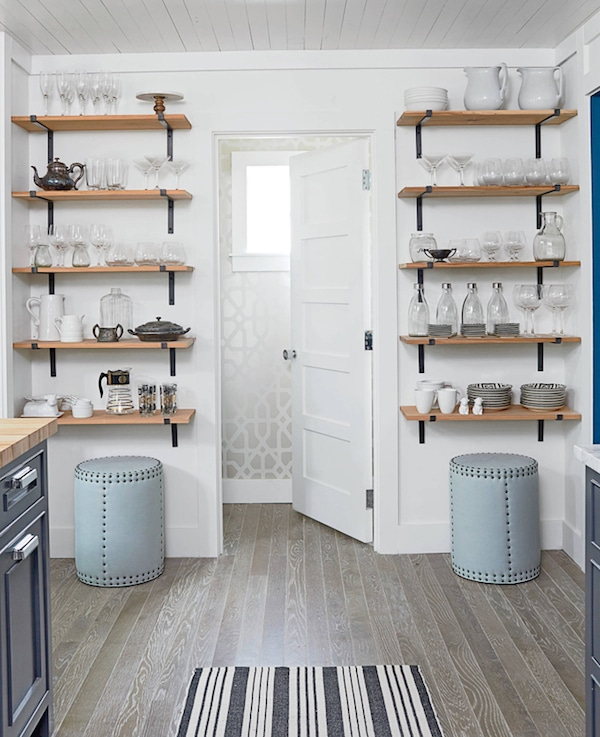 Kitchen Open Shelving The Best Inspiration & Tips! The Inspired Room