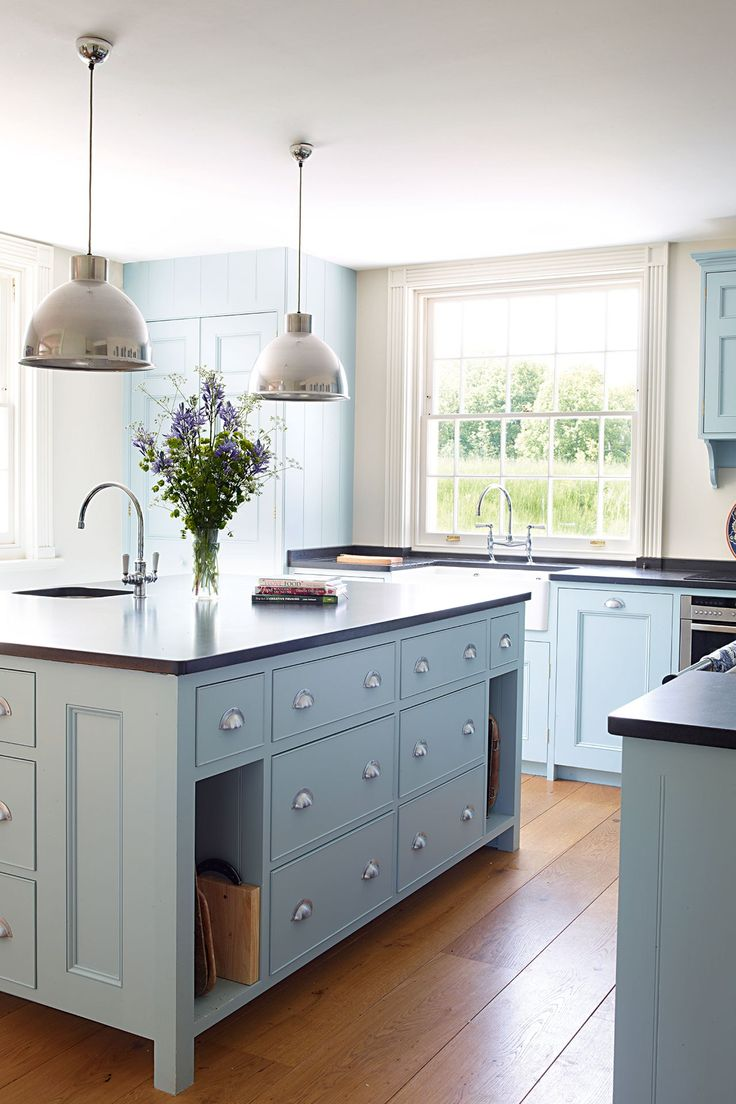 Colored Kitchen Cabinets Inspiration  The Inspired Room