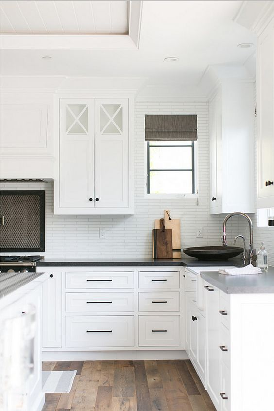 white kitchen cabinets ideas amazon tables black hardware cabinet the inspired room