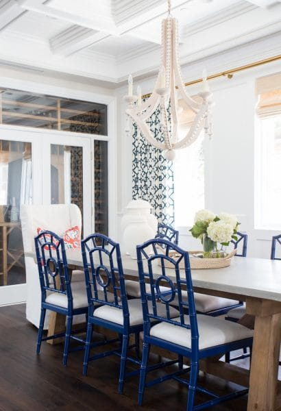 Coastal Style Dining Room Studio McGee