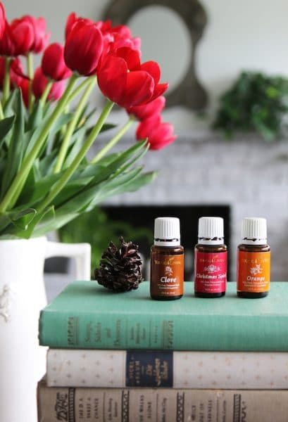 Cozy Fall Nesting Essential Oils Recipe - Young Living - The Inspired Room