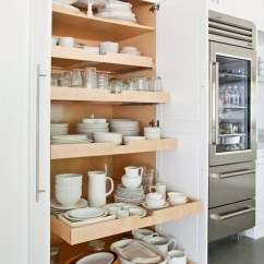 Pantry Kitchen Rustic Sinks Slide Out Drawers Inspiration The Inspired Room