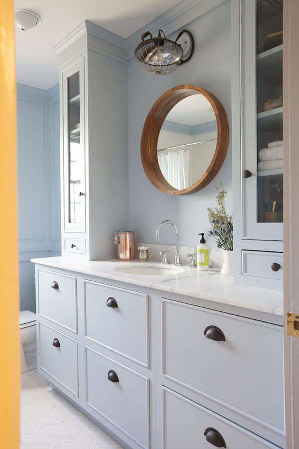 Bathroom Vanity Mirrors Inspired By: Round Mirrors - The Inspired Room