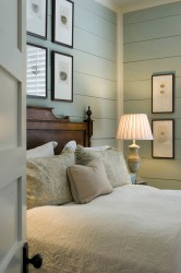 bedroom cottage room concepts historical country paint interior beholder heart walls colors wall bed shiplap decorating lake homes via