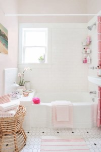 Vintage Bathrooms (My Mint & Pink Bathroom) - The Inspired ...