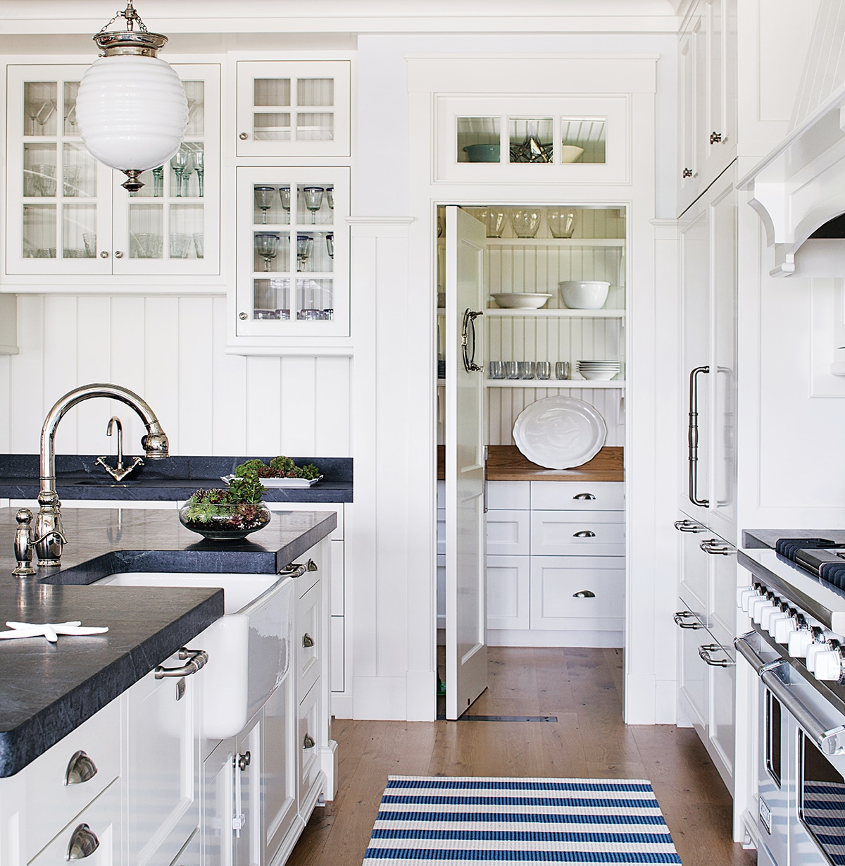 kitchen pantry cabinet ikea chalkboard in where do you store your dishes? - the inspired room