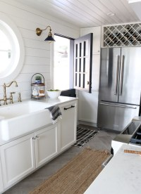 Shiplap Kitchen: Planked Walls Behind Sink & Stove - The ...