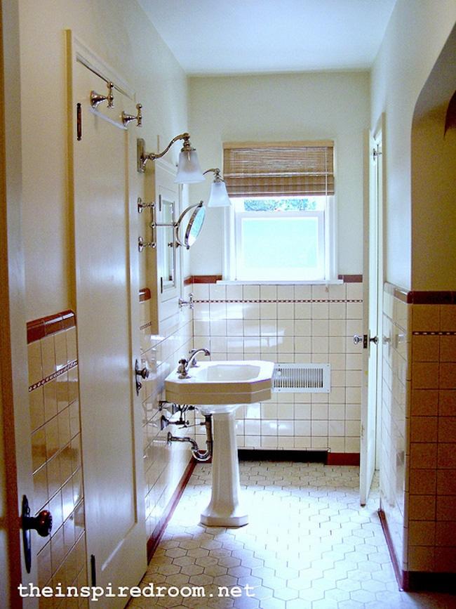 vintage bathrooms my mint pink