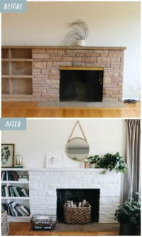Lessons from A White Painted Fireplace Makeover - The ...