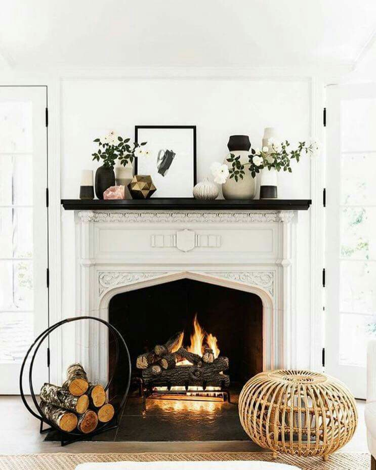 7 Ways to Cozy Up Your Fall Fireplace  Accessories  The Inspired Room
