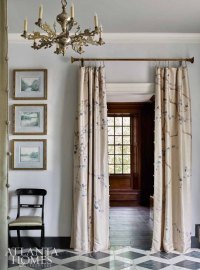 Curtains on Doorways: Creative Concealments - The Inspired ...