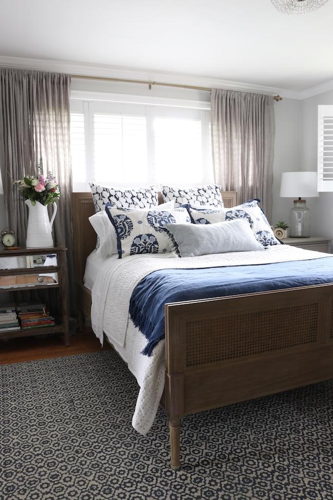Master Bedroom Makeover   New Bed, Rug U0026 Bedding!