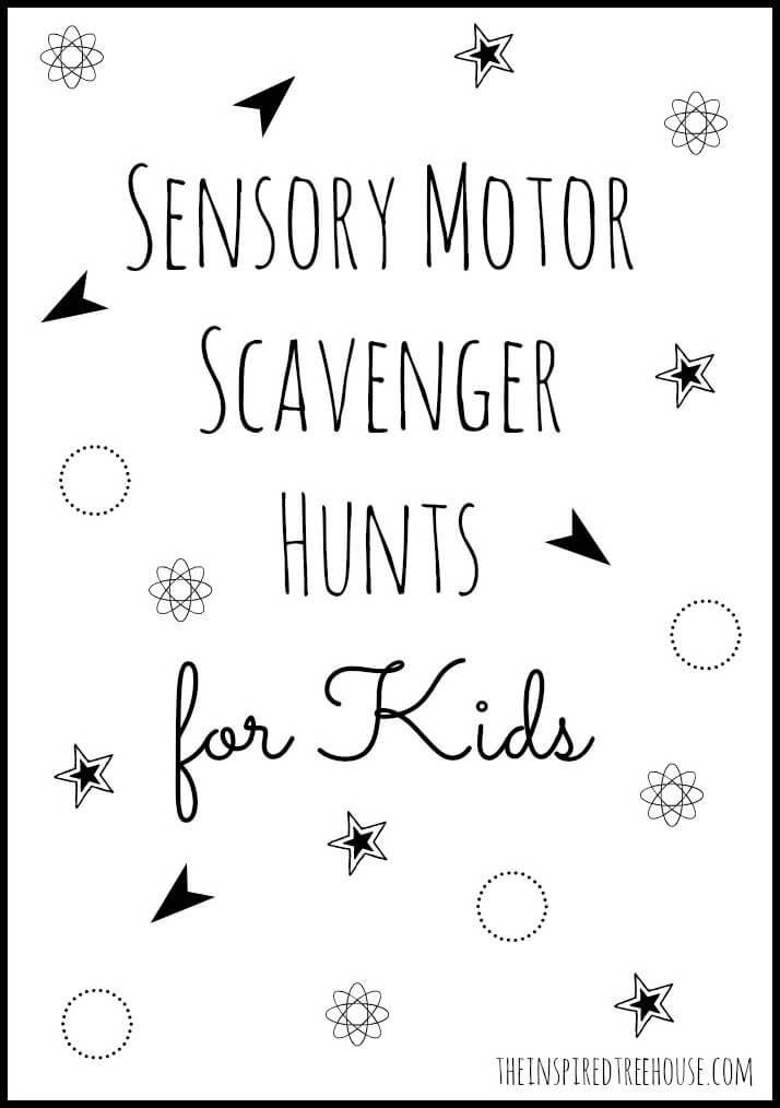 ACTIVITIES FOR KIDS: SENSORY SCAVENGER HUNT