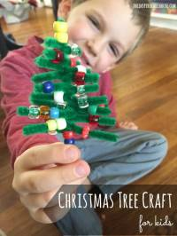 PIPE CLEANER CHRISTMAS CRAFT FOR KIDS