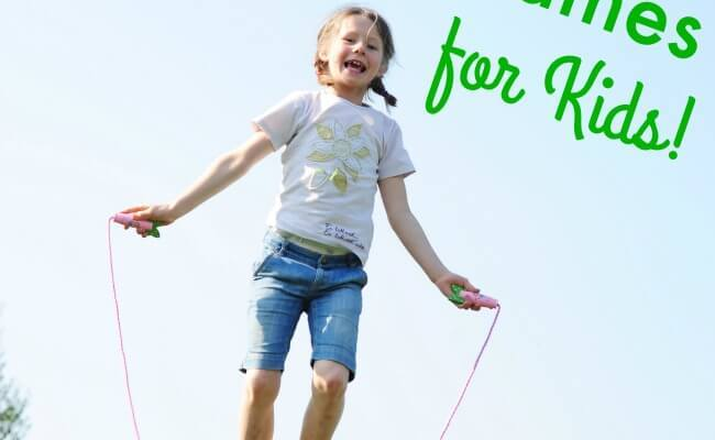 Jump Rope Games For Kids The Inspired Treehouse