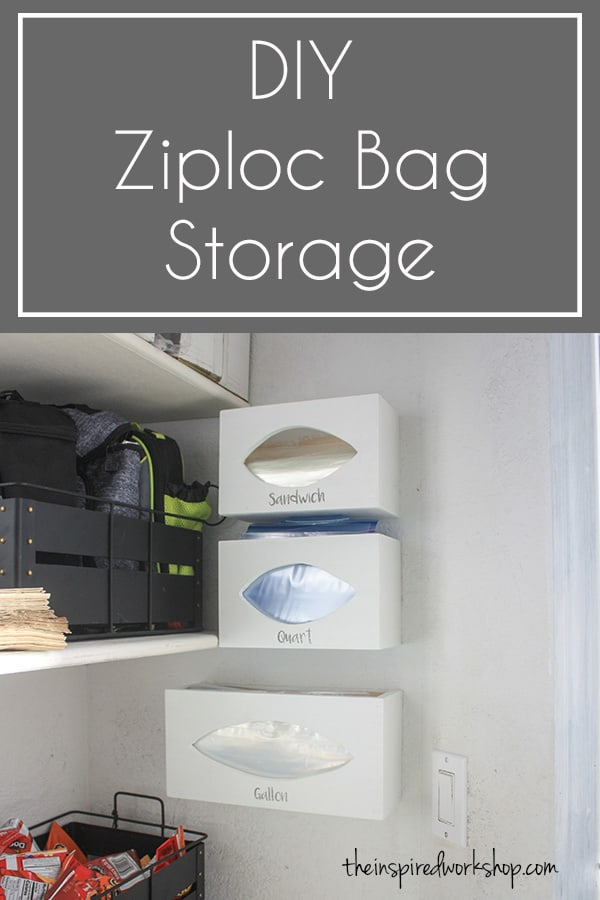7eebe1509d7 This DIY ziploc bag storage organizer is the solution to all those pesky  baggie boxes that