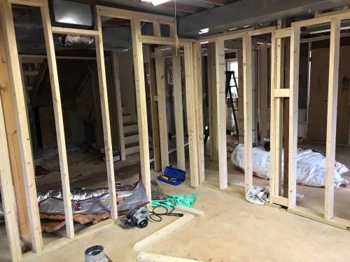 Framing DIY Raleigh House Flip Flipping Houses We buy houses need work as-is