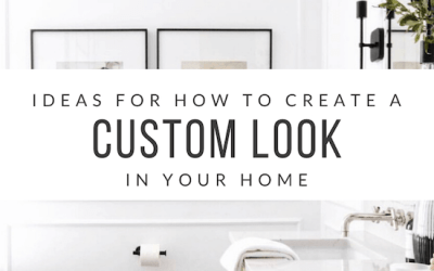 5 Ideas for Creating Custom Features in your Home
