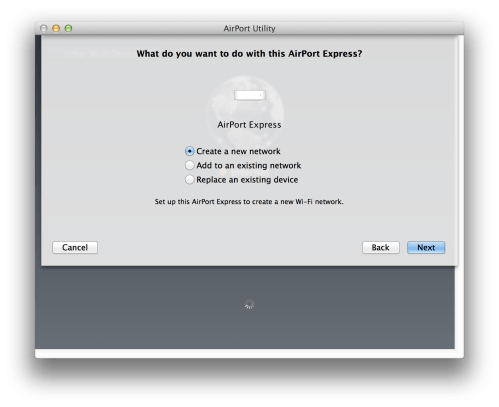 small resolution of airport utilitys initial setup options are quite restrictive