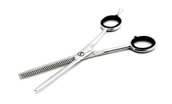 hairdressing scissor black ring23