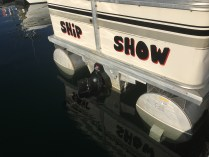 Jeff's boat is appropriately named