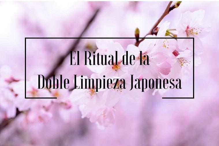 El Ritual de la doble Limpieza Japonesa