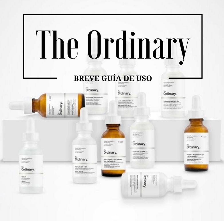The Ordinary: breve guía de uso