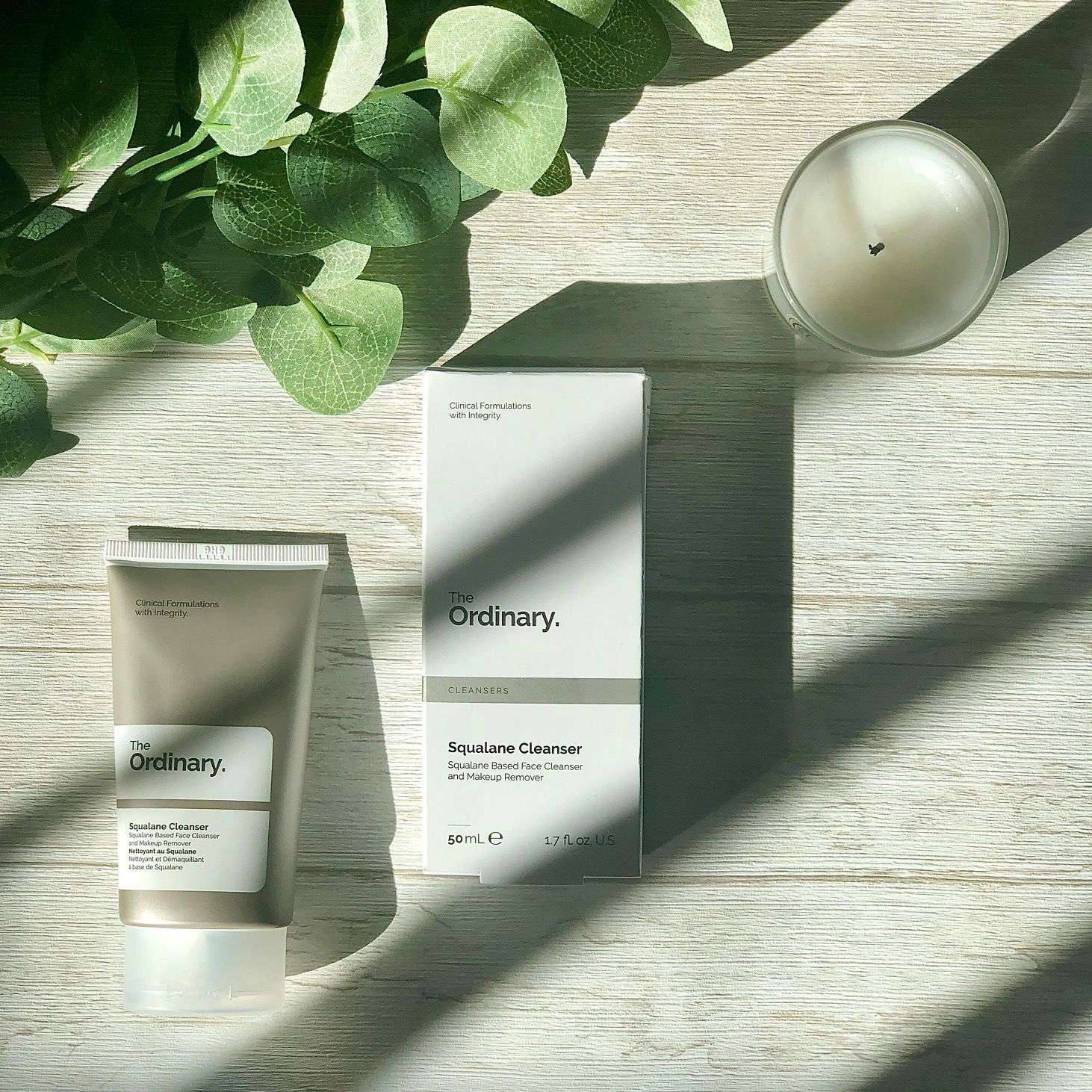 Squalane Cleanser de The Ordinary