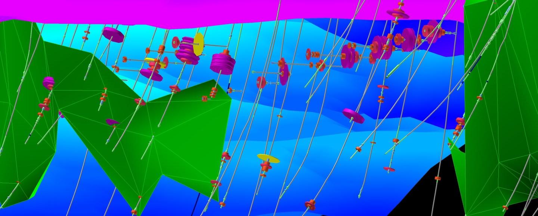 A screenshot from one of Maptek's mining software programmes. Image: Maptek