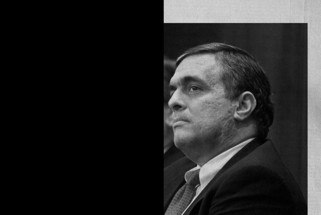 CIA Director George Tenet, right, accompanied by Attorney General John Ashcroft, looks on as FBI Director Louis Freeh, not shown, meets reporters at FBI headquarters in Washington Tuesday, Feb. 20, 2001 to discuss the arrest the FBI Agent Robert Philip Hanssen. (AP Photo/Rick Bowmer)