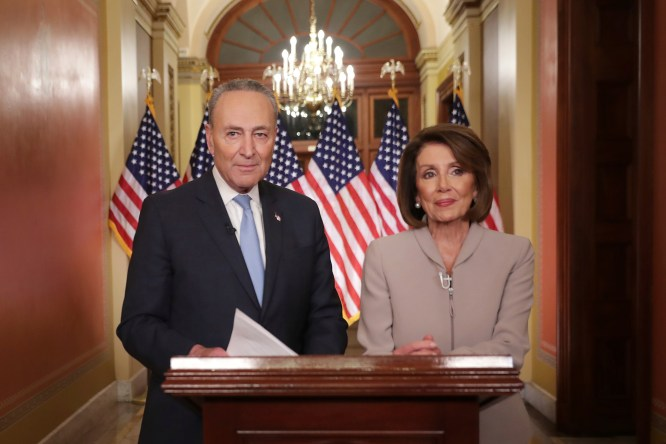 Image result for Schumer & Pelosi