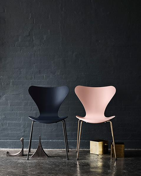 Furniture Design -Mid Century Love Series - 7 Chair Design