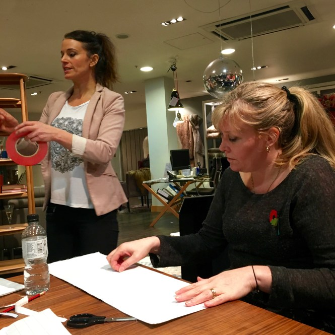 Lampshade Making With The Brilliant Artist & Designer Anna Jacobs