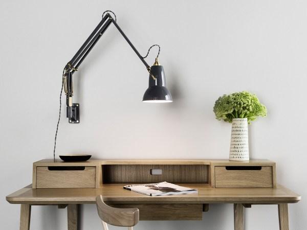 Wall Mounted Swing Arm Desk Lamp