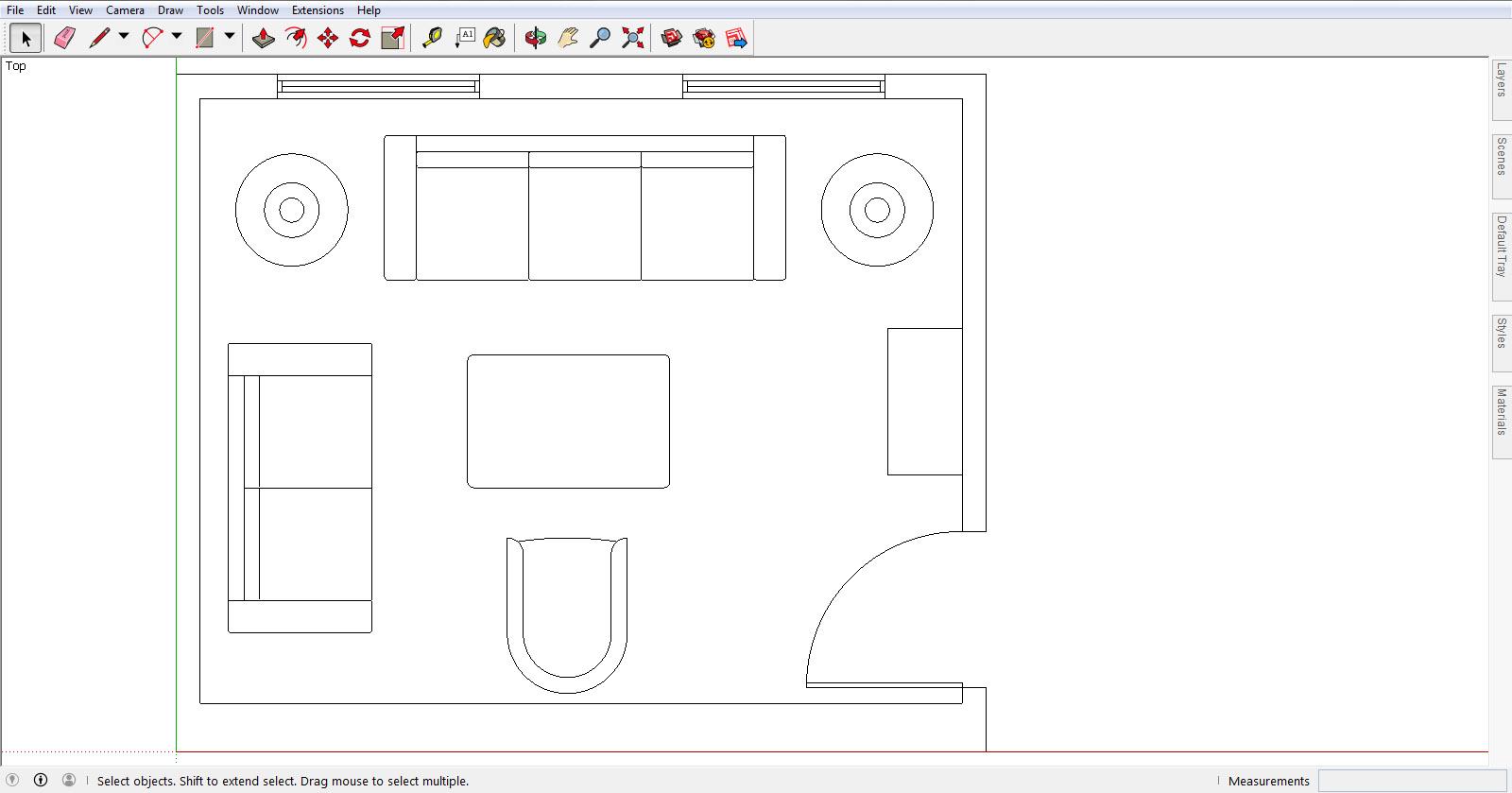 Image SketchUpHub com. Drawing Floor Plans with SketchUp Hub   A Review