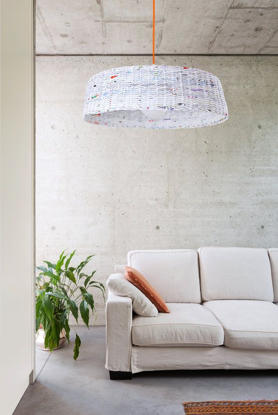 #Recycled Paper Lights - Sustainable Living
