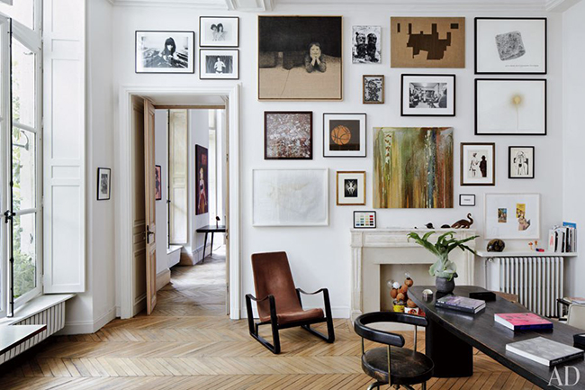 Bite Size Design Tips - #How To Create A Gallery Wall